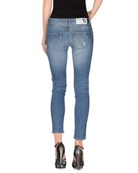 Department 5 Blue Denim Pants