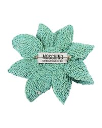 Boutique Moschino - Green Brooch - Lyst