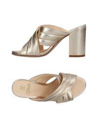 Fabi Multicolor Sandals