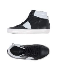 Philippe Model Black High-tops & Sneakers for men