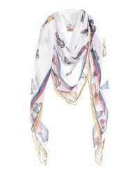 Étole Pepe Jeans en coloris White