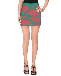 P.A.R.O.S.H. Green Mini Skirt