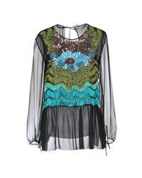 Blusa Alberta Ferretti de color Black