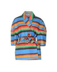 Veste Stella Jean en coloris Blue