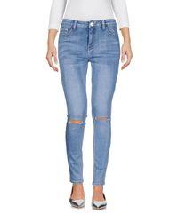 Pantalon en jean Glamorous en coloris Blue