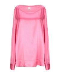 Blouse Pinko en coloris Pink