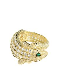 CZ by Kenneth Jay Lane - Metallic Bracelet - Lyst