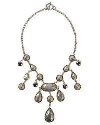 Ermanno Scervino Metallic Necklace