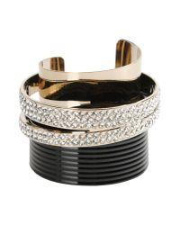 Vionnet | Black Bracelet | Lyst