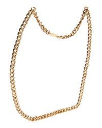 Maison Margiela Metallic Necklace