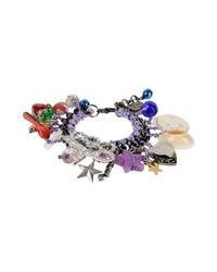 Venessa Arizaga Purple Bracelet
