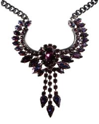 Emanuele Bicocchi - Purple Necklace - Lyst
