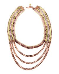 Venessa Arizaga - Purple Necklace - Lyst