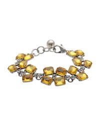 Lulu Frost - Yellow Bracelet - Lyst