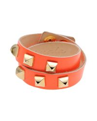 Almala | Orange Bracelet | Lyst