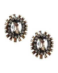 Deepa Gurnani Gray Earrings