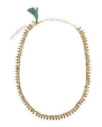 Shashi - Metallic Necklace - Lyst