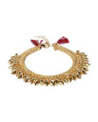 Shashi - Metallic Bracelet - Lyst