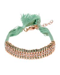 Shashi Green Bracelet