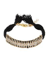 Shashi | Black Bracelet | Lyst