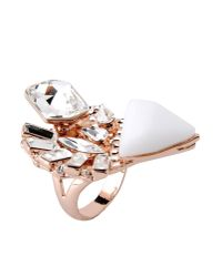 Jenny Packham - Metallic Ring - Lyst