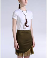 Maison Margiela - Brown Necklace - Lyst