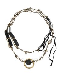 Masnada - Metallic Necklace - Lyst