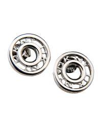 DKNY | Metallic Earrings | Lyst