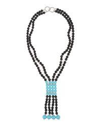 Kenneth Jay Lane Blue Necklace