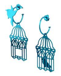 Loroetu | Blue Earrings | Lyst