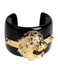 Class Roberto Cavalli Black Bracelet
