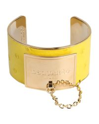 DSquared² | Yellow Bracelet | Lyst