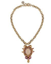 Matthew Williamson - Metallic Necklace - Lyst