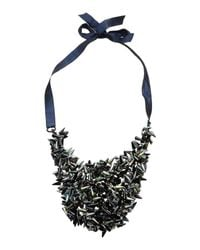 Jil Sander - Green Necklace - Lyst