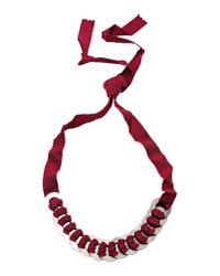 Ligia Dias | Purple Necklace | Lyst