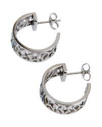 Thierry Mugler Metallic Earrings