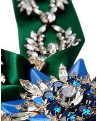 Shourouk - Blue Necklace - Lyst