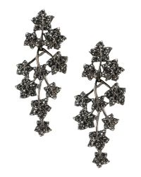 Kenneth Jay Lane | Black Earrings | Lyst