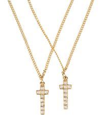 DSquared² - White Necklace - Lyst