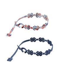 Cruciani | Gray Bracelet for Men | Lyst
