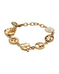 Boutique Moschino | Metallic Bracelet | Lyst