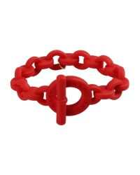 Marc By Marc Jacobs - Red Bracelet - Lyst