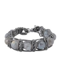 Emanuele Bicocchi | Gray Bracelet for Men | Lyst