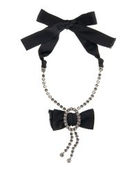 Lanvin - Black Necklace - Lyst