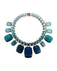 Elie Saab | Blue Necklace | Lyst