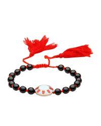 Ileana Makri - Black Bracelet - Lyst