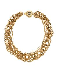 Dolce & Gabbana | Metallic Necklace | Lyst