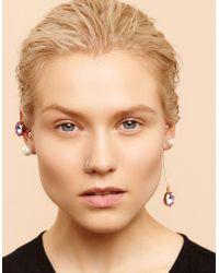 Maria Francesca Pepe - Metallic Earrings - Lyst