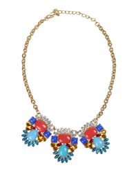 Kenneth Jay Lane   Multicolor Necklace   Lyst