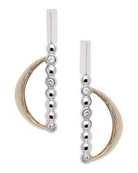 Eddie Borgo   Metallic Earrings   Lyst